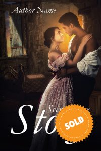 cover of the historical novel, premade romantic genre of premadebookcoversmarket.com