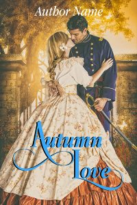 historical novel book cover, premade romantic genre of premadebookcoversmarket.com
