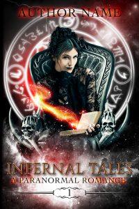 Premade cover genre and paranormal category. Cover of: premadebookcoversmarket.com