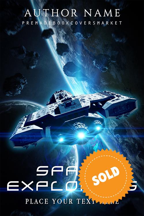 premade cover, Ericka Evans, sci-fi, scienze fiction, category of www.premadebookcoversmarket.com