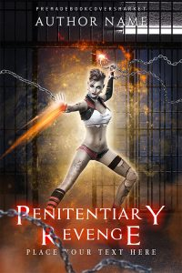 penitentiary revenge cover fantasy and paranormal category, by premadebookcoversmarket.com
