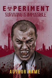 horror genre cover, from premadebookcoversmarket.com