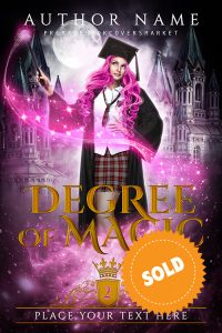 premade cover, Lisa Chalmers, fantasy, academy, category of www.premadebookcoversmarket.com