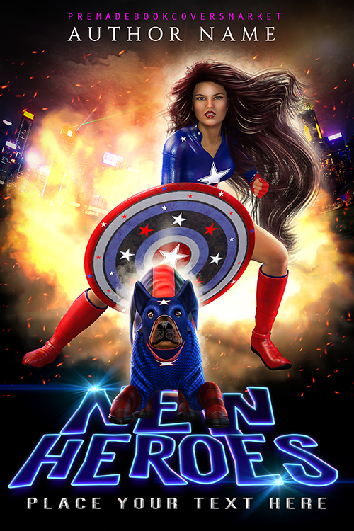 premade covers. fantasy category, paranormal, super heroes. www.premadebookcoversmarket.com