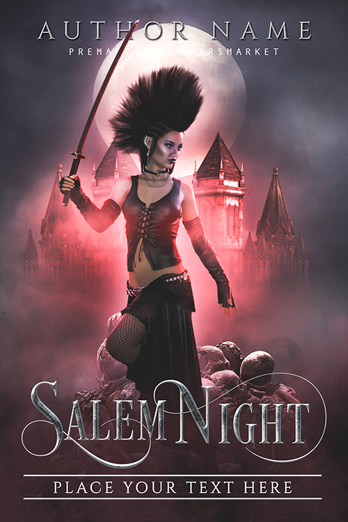 premade covers. fantasy horror category. www.premadebookcoversmarket.com